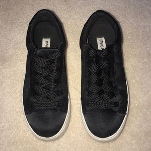 Steve Madden black sneakers.